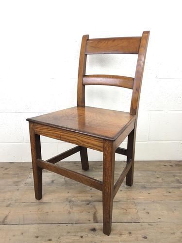 Antique Welsh Oak Farmhouse Chair (1 of 8)