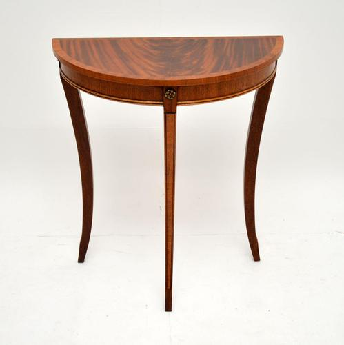 Antique Regency Style  Mahogany Console Table (1 of 7)