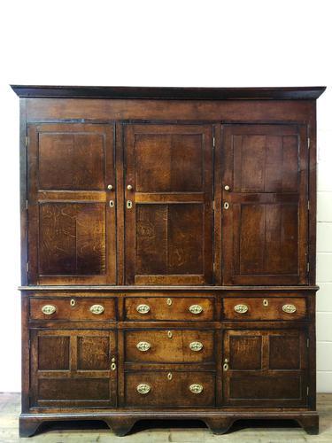 Late 18th Century Welsh Oak Cupboard (1 of 17)