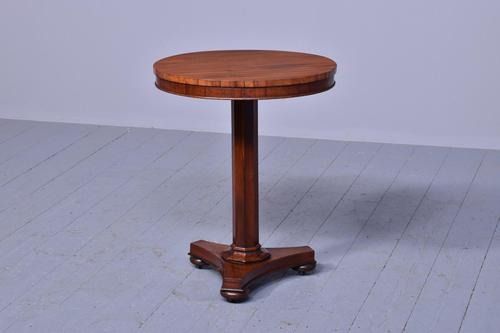 Quality George IV Rosewood Occasional Table (1 of 5)