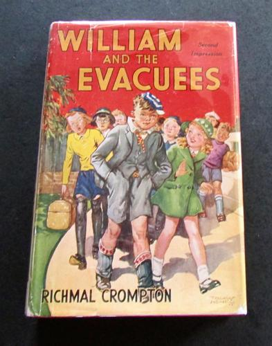 1940 2nd Edition William & The Evacuees by Richmal Crompton with Original Dust Jacket (1 of 4)