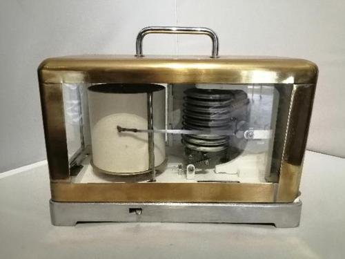 Mid 20th Century Portable Marine Barograph (1 of 4)