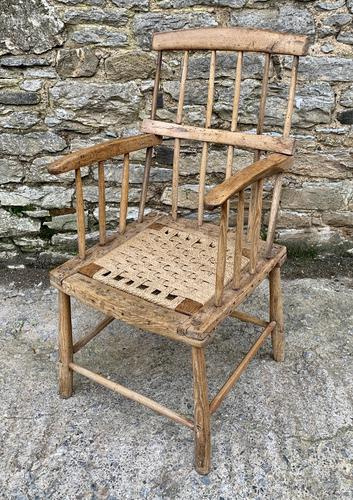 Antique Primitive Westcountry Stick Back Windsor Chair (1 of 18)