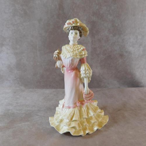 """Coalport """"Georgina """" Limited Edition Figurine (1 of 7)"""