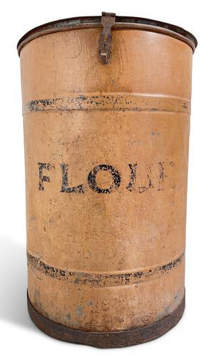 English Tole Flour Bin (1 of 5)