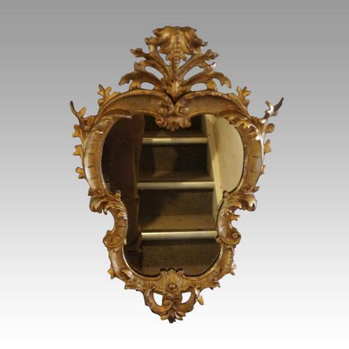 Rare Antique Gilt Florentine Mirror (1 of 6)