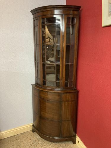 Glazed Corner Cabinet (1 of 7)