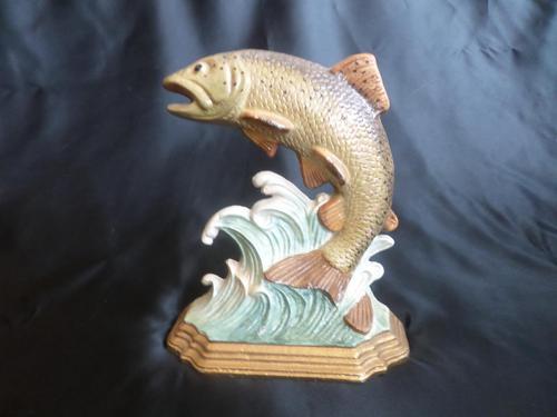 Fishy Cast Iron Door Stop (1 of 5)