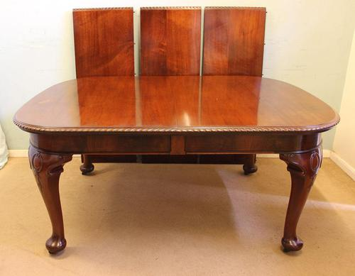 Antique Large Mahogany Extending Dining Table (1 of 16)
