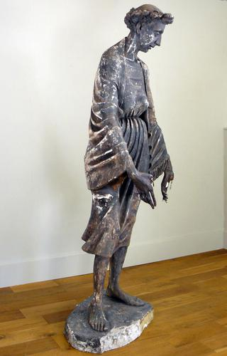 """Life Size Sculpture by Mary Milner Dickens - """"Shepherdess"""" (1 of 10)"""