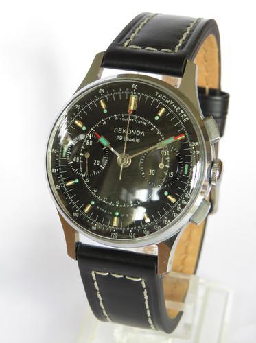 Gents 1960s Sekonda Strela 3017 Cosmonaut Chronograph / Watch (1 of 5)
