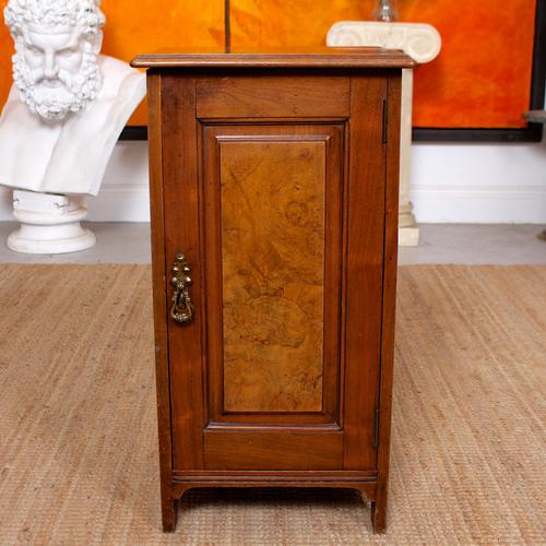 Walnut Bedside Cabinet Victorian (1 of 6)