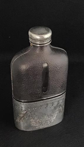 Victorian Hip Flask (1 of 4)