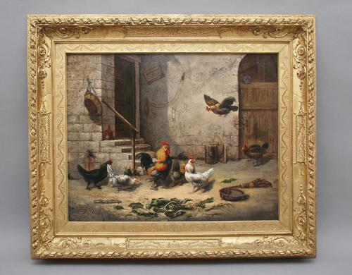 19th Century Fine Quality Oil Painting (1 of 11)