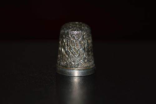 Victorian Silver Thimble, by Henry Griffith & Sons, Chester 1887 (1 of 6)