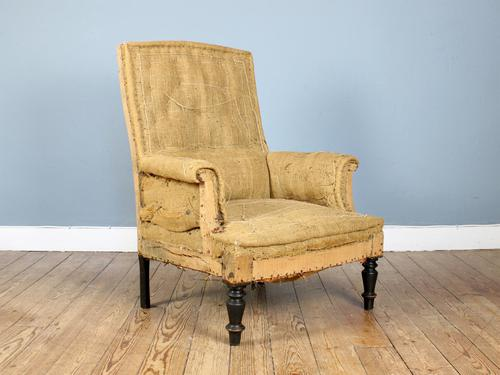 19th Century Napoleon III Armchair for Reupholstery (1 of 4)