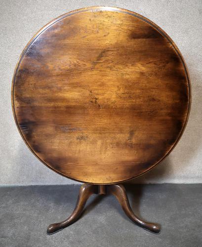 Country Oak Tilt - Top Breakfast Table By GT Rackstraw (1 of 10)