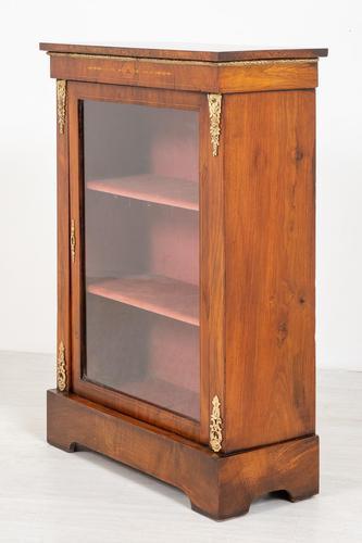 Burr Walnut Victorian Pier Cabinet (1 of 7)