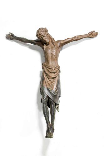 19th Century Italian Cast Bronze Crucifixion (1 of 5)