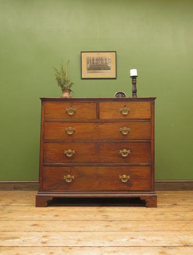 Antique Georgian Country House Oak Chest of Drawers (1 of 22)