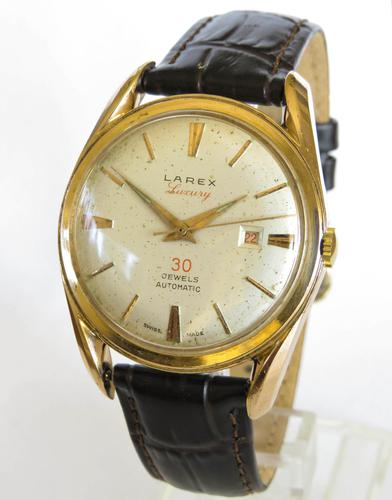 Gents 1950s Larex Luxury Wrist Watch (1 of 5)