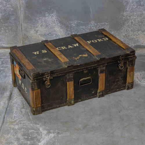 Victorian Tin Trunk (1 of 9)