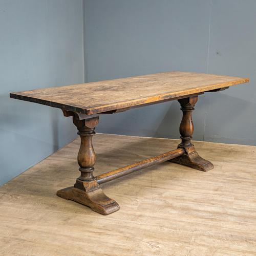Distressed Refectory Table (1 of 11)