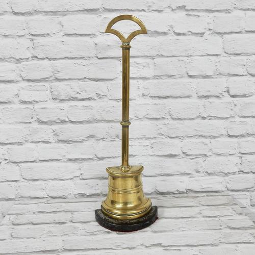 Antique Brass Door Stop (1 of 5)