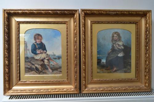 Pair of John McGhie Scottish Oil Paintings (1 of 9)