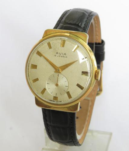 Gents Avia Wrist Watch c.1960 (1 of 5)