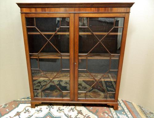 Mahogany Bookcase (1 of 7)