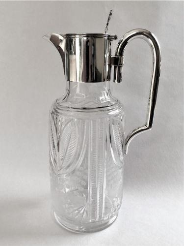 Superb Victorian Silver Plated Claret Jug (1 of 6)