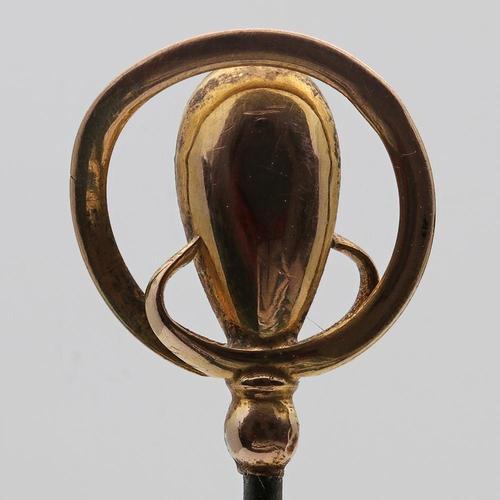 Charles Horner gold hatpin (1 of 3)