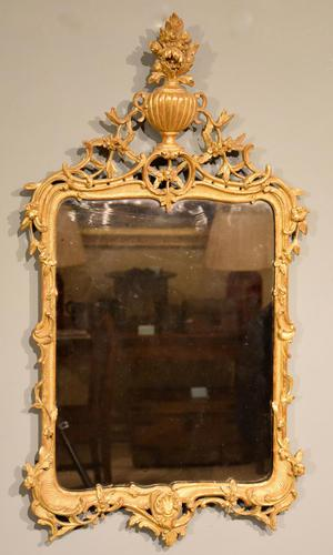 18th Century Giltwood Italian Mirror (1 of 4)