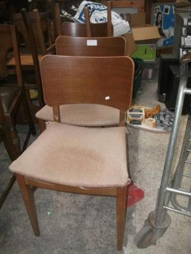 Set of Four Retro Dining Chairs (1 of 1)