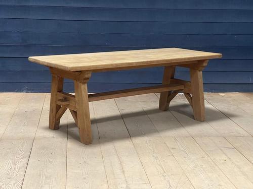 Scandinavian Style Bleached Oak Farmhouse Table (1 of 14)