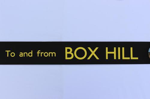 London Transport Slipboard Poster for Box Hill (1 of 1)