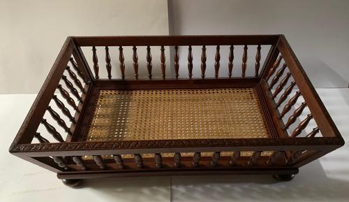 19th Century French Mahogany Dog Bed (1 of 4)