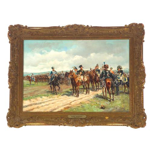 'Napoleon at Waterloo' by Guido Sigriste c.1890 (1 of 4)