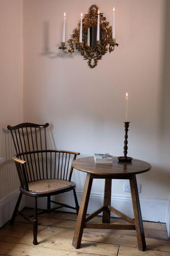 Late 18th Century Oak Cricket Table (1 of 20)
