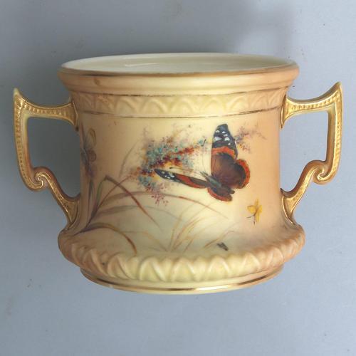 Grainger & Co Royal China Works Royal Worcester Loving Cup c.1901 (1 of 8)