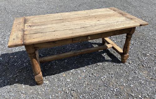 Rustic Bleached Oak Coffee Table (1 of 11)