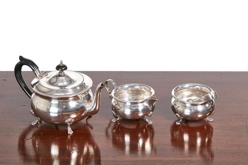 Silver Plated Tea Set (1 of 10)