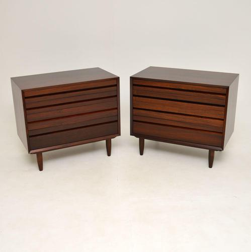 Pair of Danish Vintage Rosewood Chest of Drawers by Poul Cadovius (1 of 13)