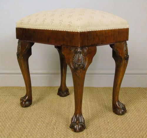 Good Quality Late Victorian Mahogany Stool (1 of 6)