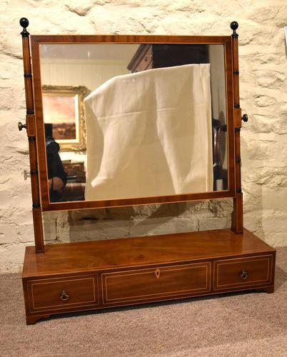 Large George III Manhogany Dressing Mirror (1 of 6)