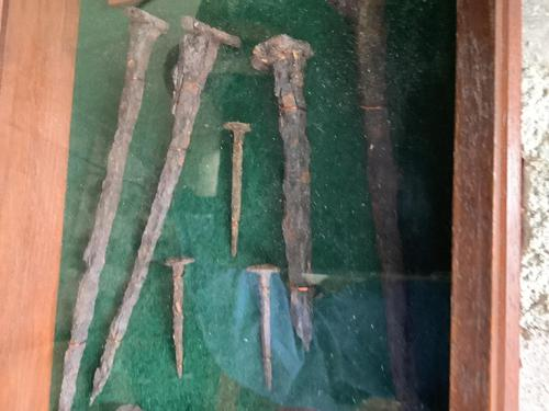 Rare Find in 1958 - Roman Nails C80ad Found in North of England (1 of 3)