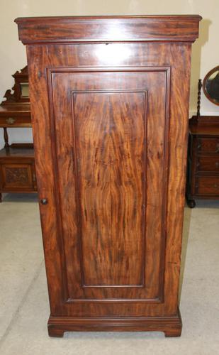 1900s Mahogany 1 Door Hall Wardrobe (1 of 4)