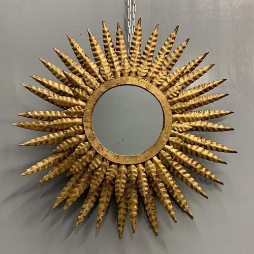 55cm 3 Tier Spanish Sunburst Mirror (1 of 6)