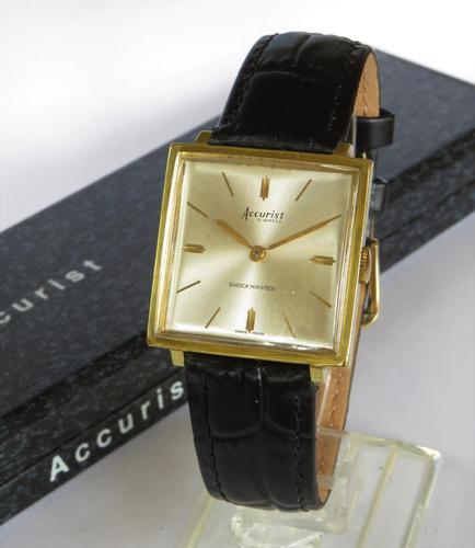 Gents 1970s Accurist Wrist Watch (1 of 6)